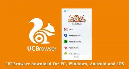 UC Browser download for PC, Windows, android and iOS