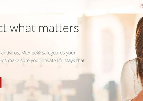 McAfee Security Solutions-Endpoint-Cloud Network Antivirus Malware
