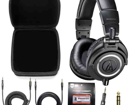 Audio-Technica ATH-M50x Full Review, Specifications and Design