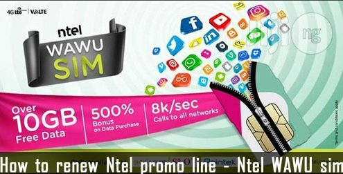 How to Renew and Activate Ntel Promo Wawu line (500% data) 1000 for 10GB