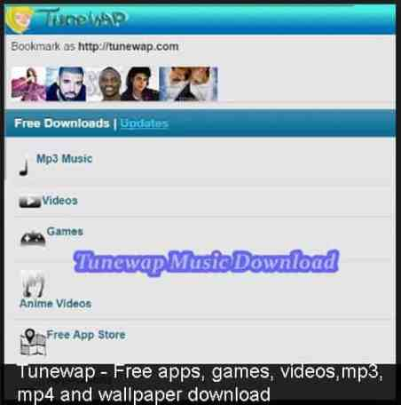 Tunewap - Free Apps, games,movies and music download - MikiGuru