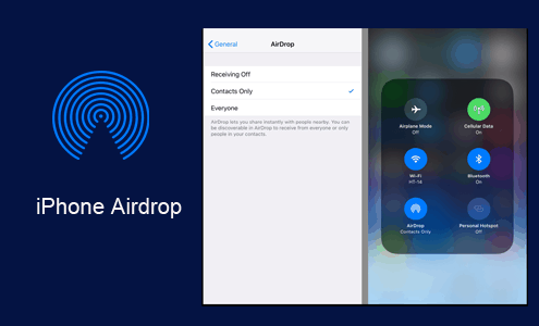 iPhone Airdrop - How to instantly share files