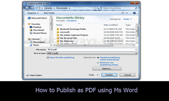 How To Print (Save) To PDF File on window 10