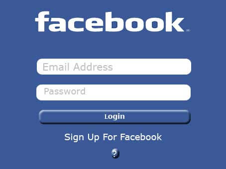 Facebook Login and Sign up