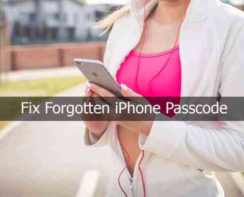 Forgotten iPhone passcode