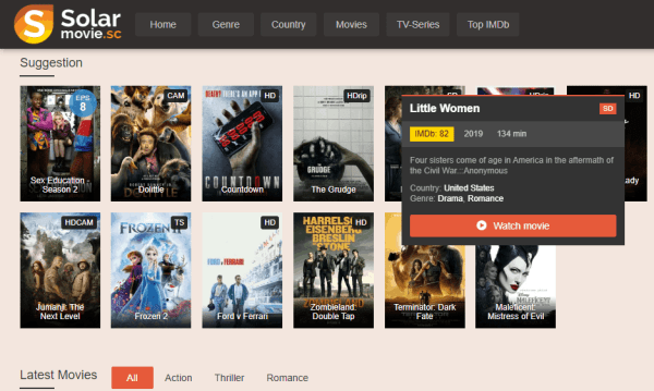 Free Streaming Sites