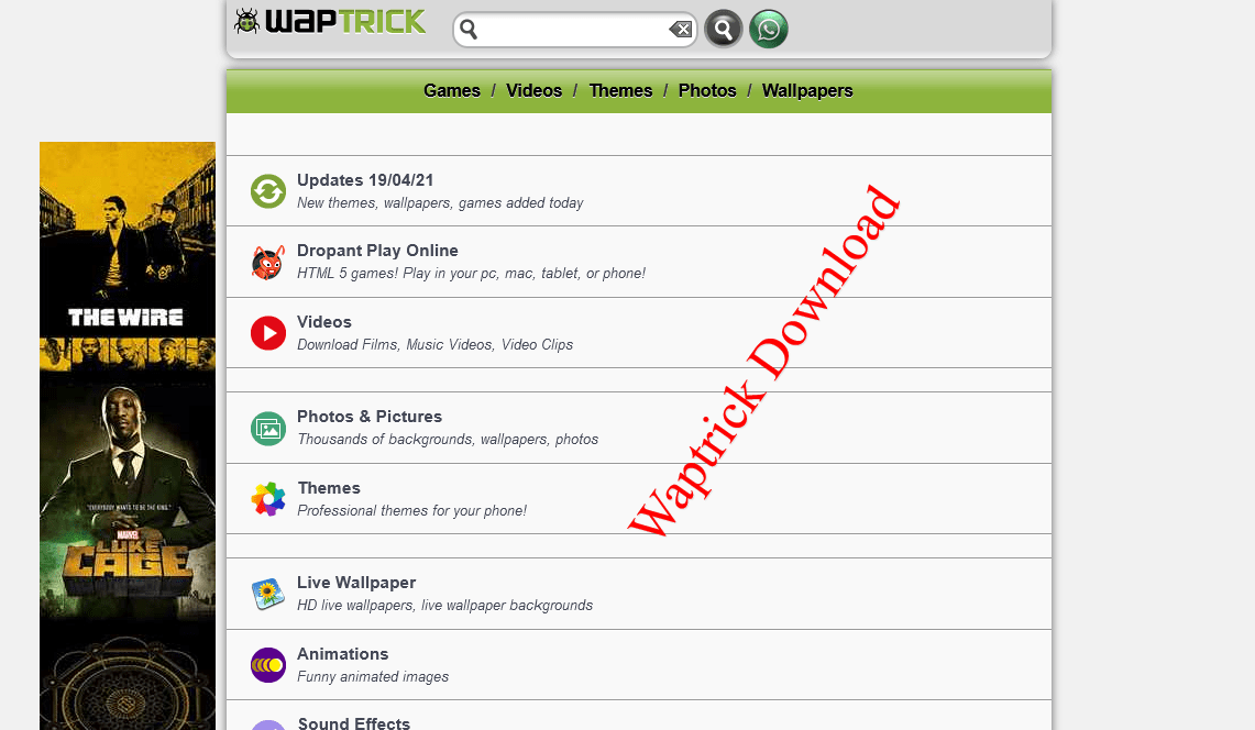 Waptrick – Mp3 Music Free Download 2021/2020 | Videos | Apps | Games – www.waptrick.com