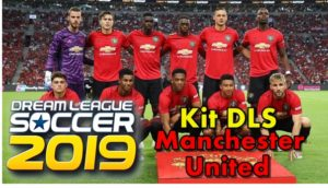 Kit DLS Jersey Manchester United 2019/2020 - Dream League Soccer 2019