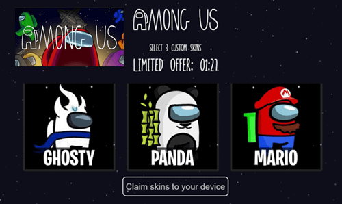 Amongus2.site Generator Gratis Skin Among Us, Apakah Work?