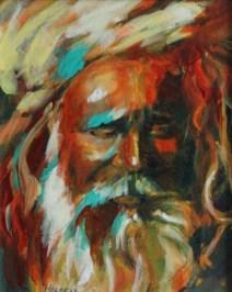 """9""""x12"""" Acrylic on canvas"""