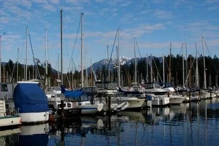 Marina em Vancouver