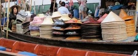 Mercado Flutuante da Tailândia