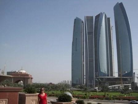 Paisagem de Abu Dhabi