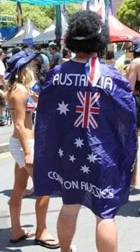 Australia Day by Mikix