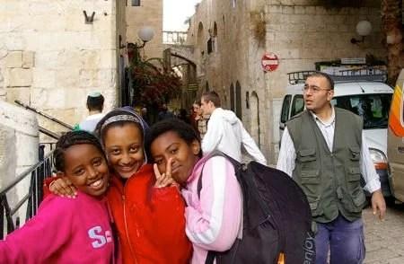 Jerusalem - Judeus da Etiopia