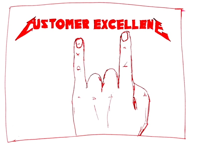 Metallica Customer Excellence