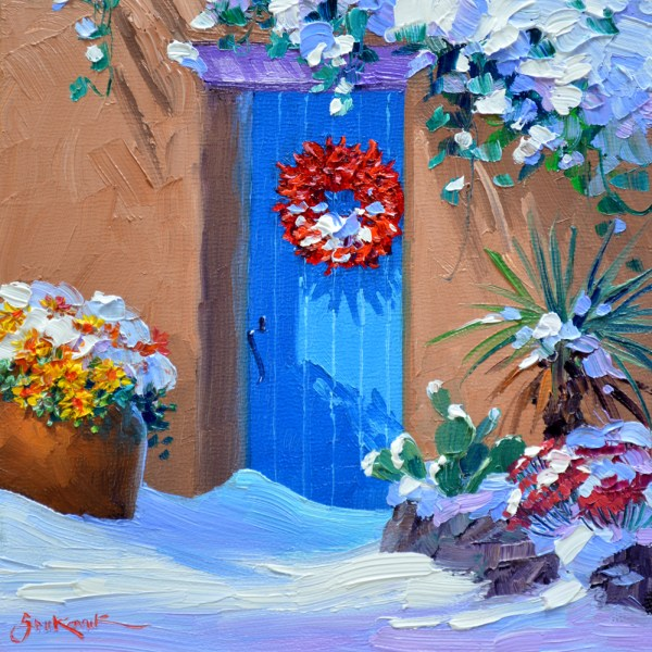 Mikki Senkarik Oil Painting