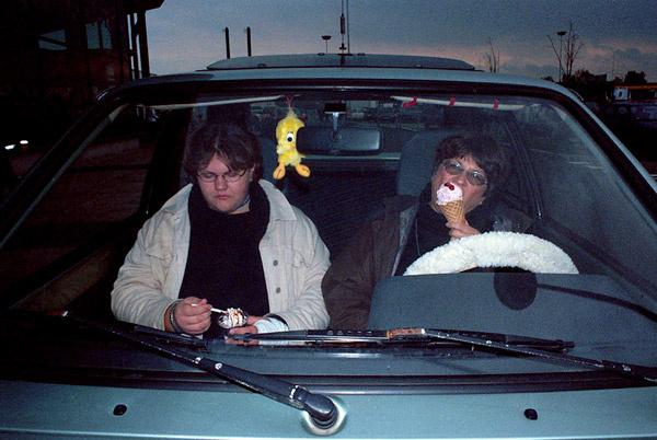 Suburbia - icecream car