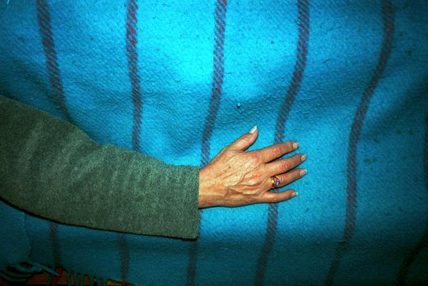 Suburbia - hand blanket