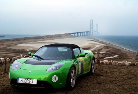 Tesla groen Storebaelt Miklas Njor