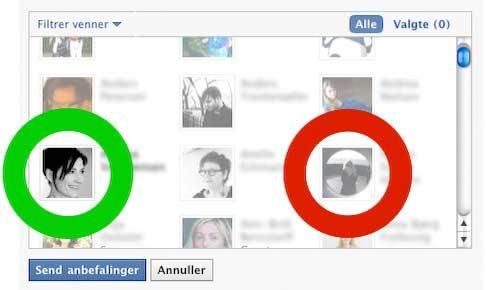 Dorthe Facebook Invites