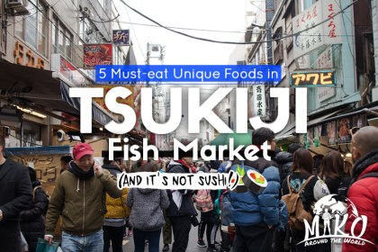 What to Eat in Tsukiji Fish Market