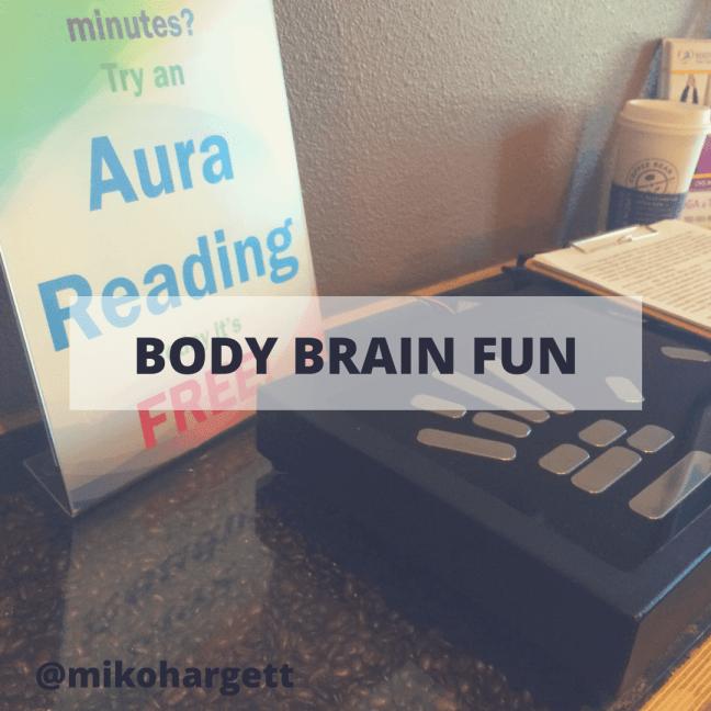 Body Brain Fun - aura reading machine by Body & Brain