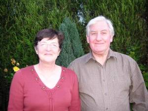 John and Yvonne Brooker from Middleton, Greater Manchester who were the founding Trustees and original holiday makers
