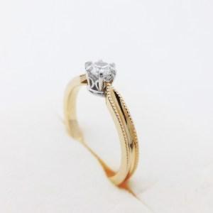 婚約指輪 エンゲージ オーダーメイド MIKOTO 鶴