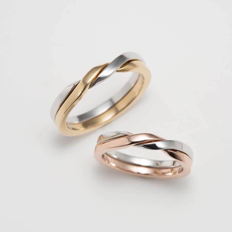 ギメルリングの結婚指輪