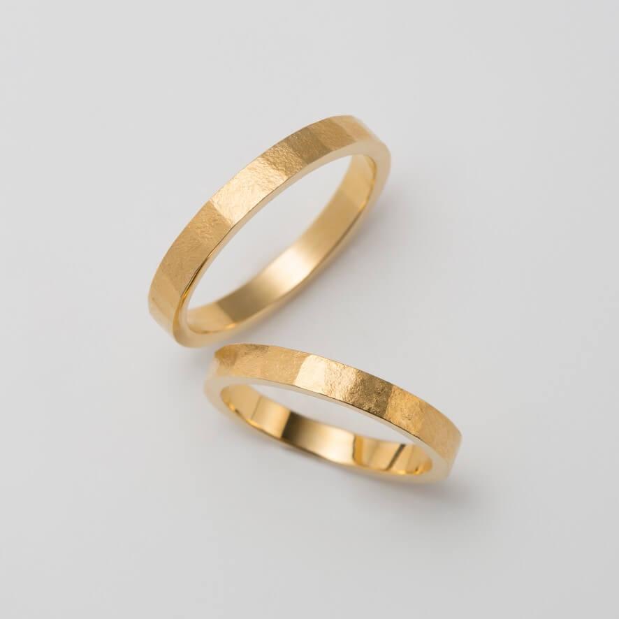 錆(さび)加工の結婚指輪