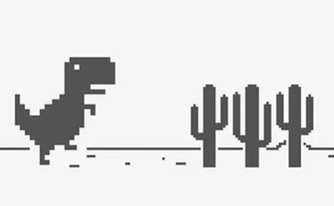 『裏技』Google chromeのあの恐竜でゲームをプレイする方法