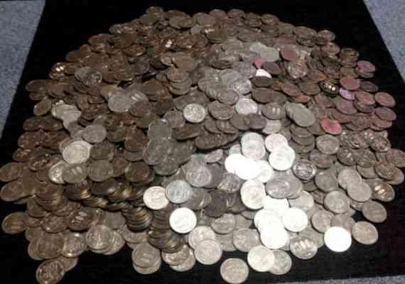500円玉を実際に数えてみました