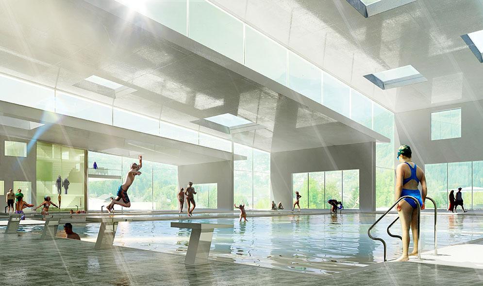 Campus universitaire et sportif  Mikou Studio