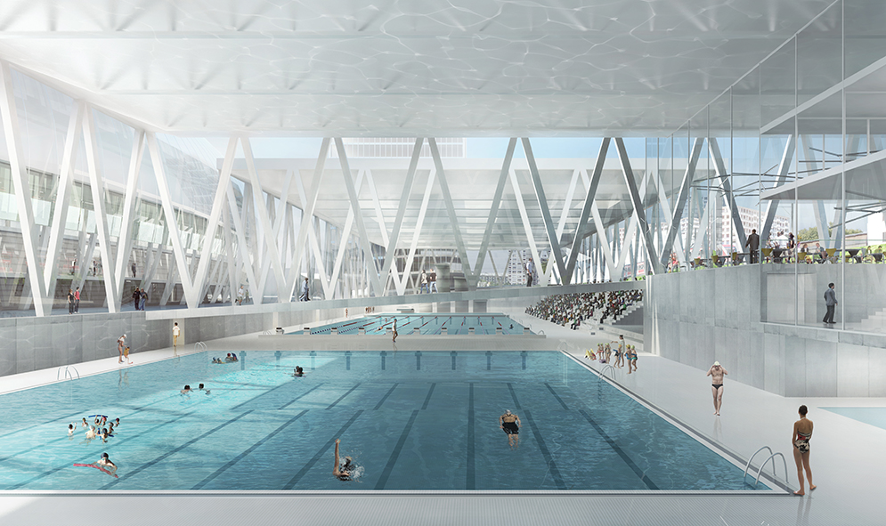 Indoor Olympic Swimming Pool