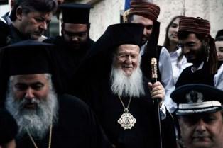 Υποδοχή Οικουμενικού Πατριάρχη Βαρθολομαίου