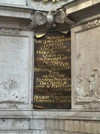 Detail an der Pestsäule in Wien (S. Thiele)