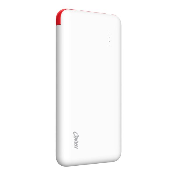 HAME T6 Ultrathin Portable Polymer 10000mAh Power Bank For