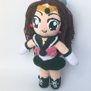 sailor_jupiter_crochet_doll