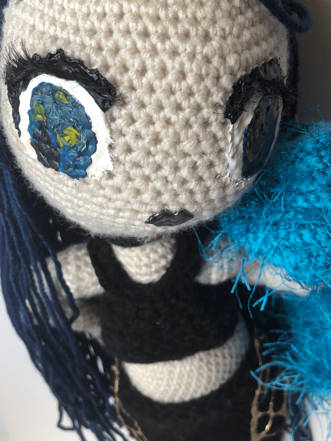 Crochet Punk Fashion Doll
