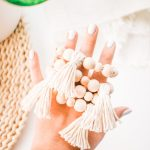 Diy Wooden Bead Tassel Napkin Rings For Your Dinner Table