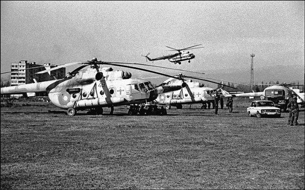 Українські вертольоти евакуйовували біженців з Кодори у 1993-му роцу (ФОТО)