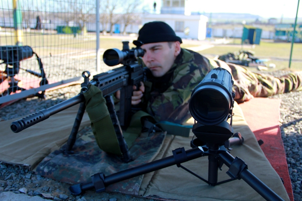 Змагання снайперів ВВ у Криму