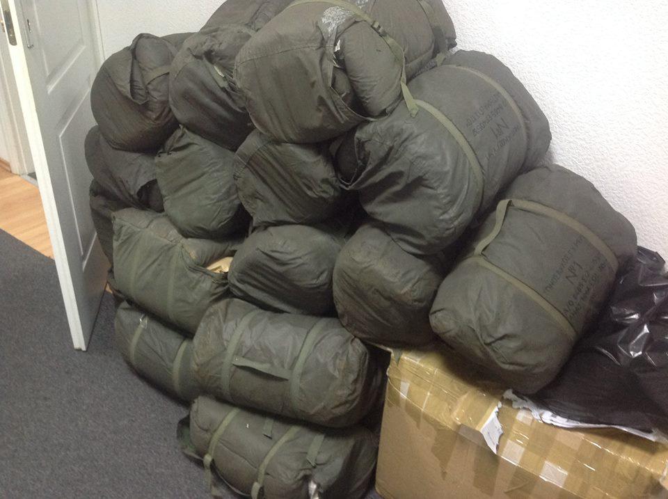 Проплатили 12 спальників для 101 бригади