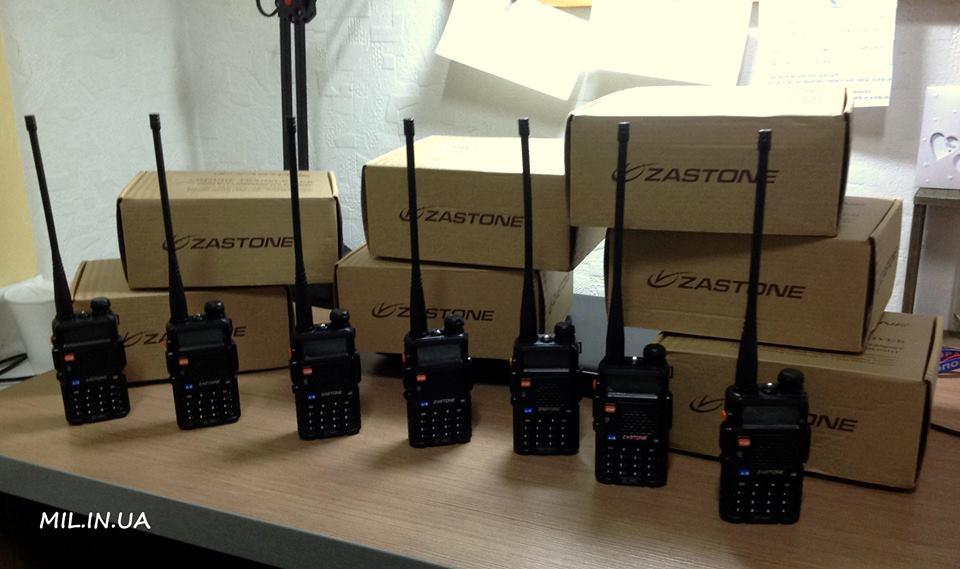 Приїхали 7 радіостанцій ZASTONE ZT-V8+ для Морської піхоти