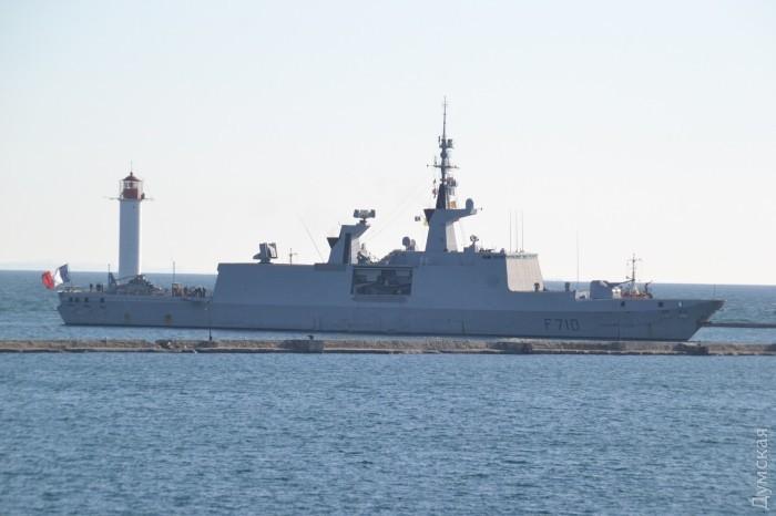 """До Одеси прибув французький ракетний фрегат """"Лафайєт"""""""