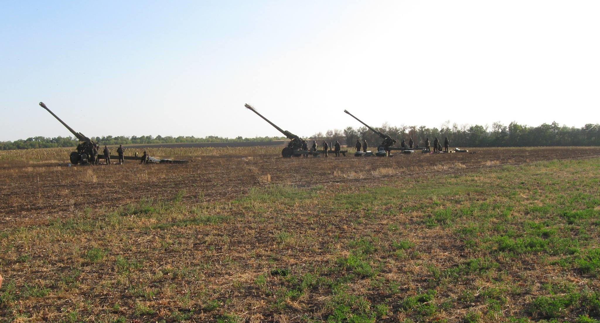 Вартові хаосу: запорізькі артилеристи під час вересневих боїв 2014 року