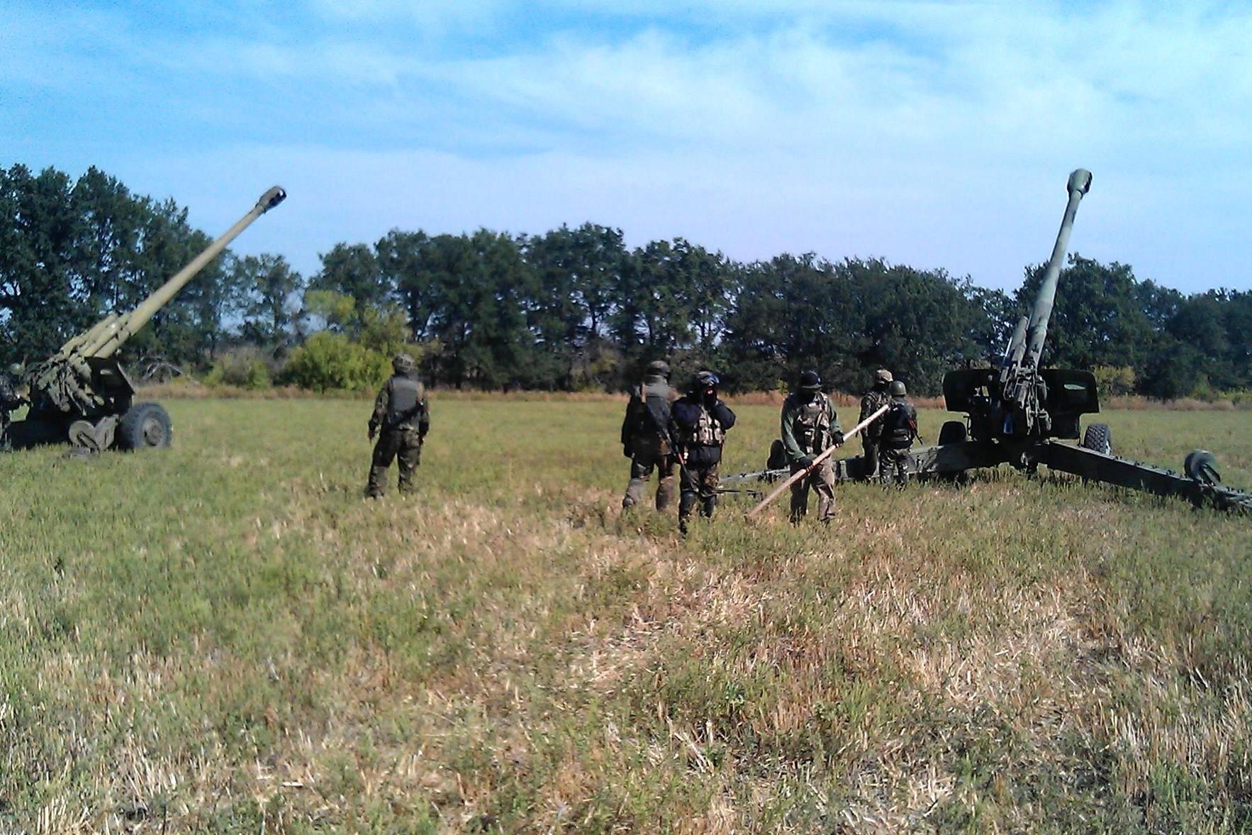 3-тя гаубична батарея 55-ї артилерійської бригади у війні на Донбасі