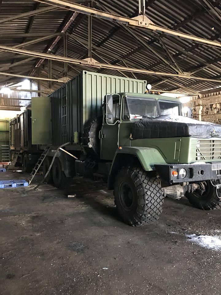 До Збройних Сил передано вже 8-й мобільний лазнево-пральний комплекс