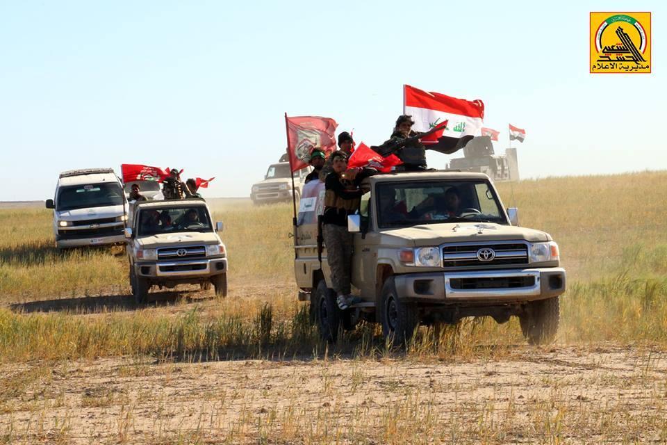 Коаліція в Іраку провела успішну військову операцію на південний захід від Мосула.